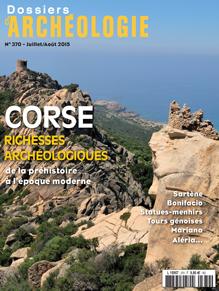 Dossiers d'Archéologie n° 370 - juillet/août 2015