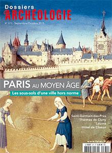 Dossiers d'Archéologie n° 371 - septembre/octobre 2015