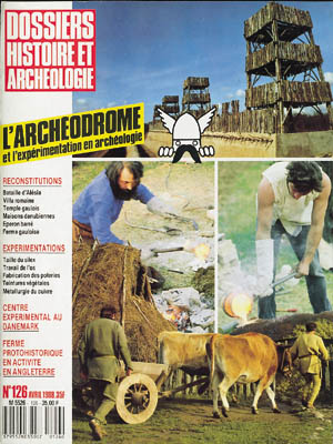 Dossiers d'Archéologie n° 126 - avril 1988