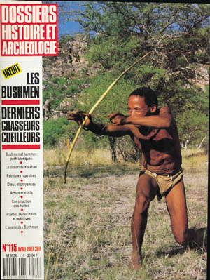Dossiers d'Archéologie n° 115 - avril 1987