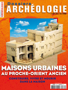 Dossiers d'Archéologie n° 332 - Mars/Avril 2009